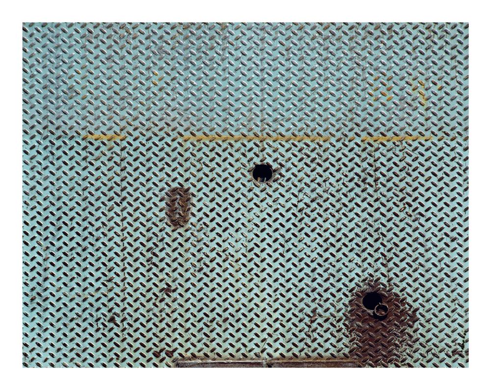 Decomposition #30, Metal Plate, 1993