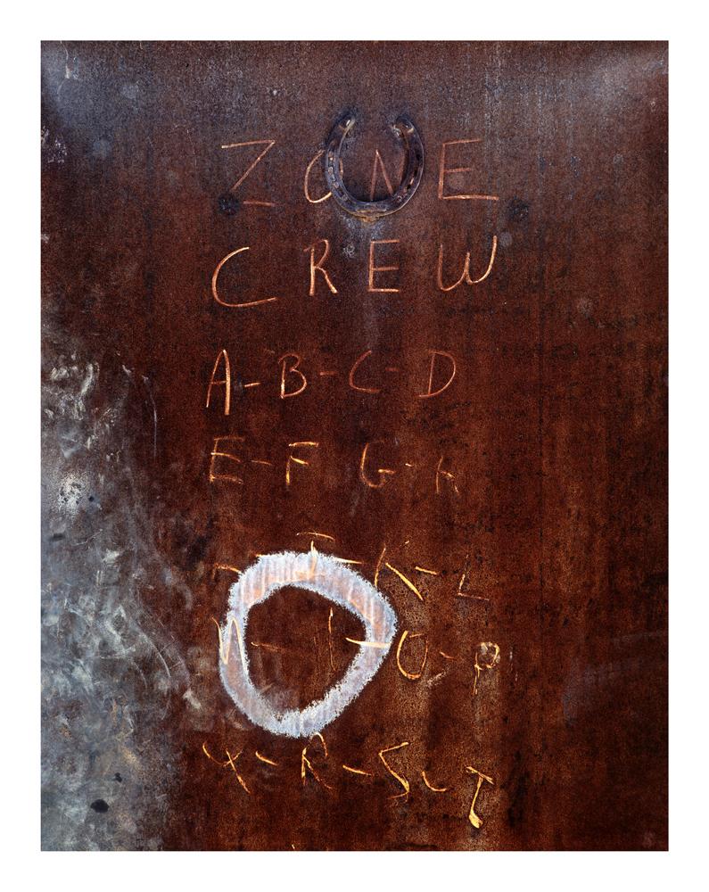 Decomposition #65, Metal Door, 1994