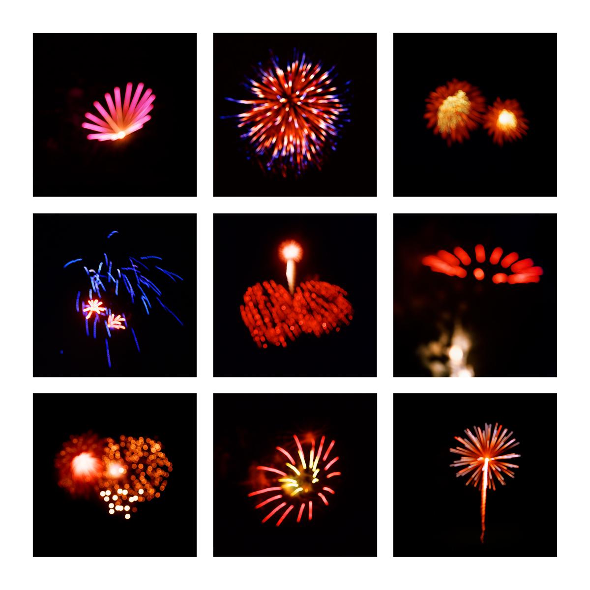 Fireworks #1, 2019 (2008-2019)