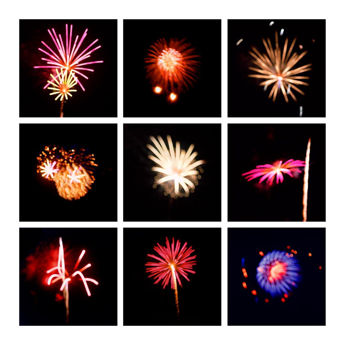 Fireworks #2, 2019 (2008-2019)