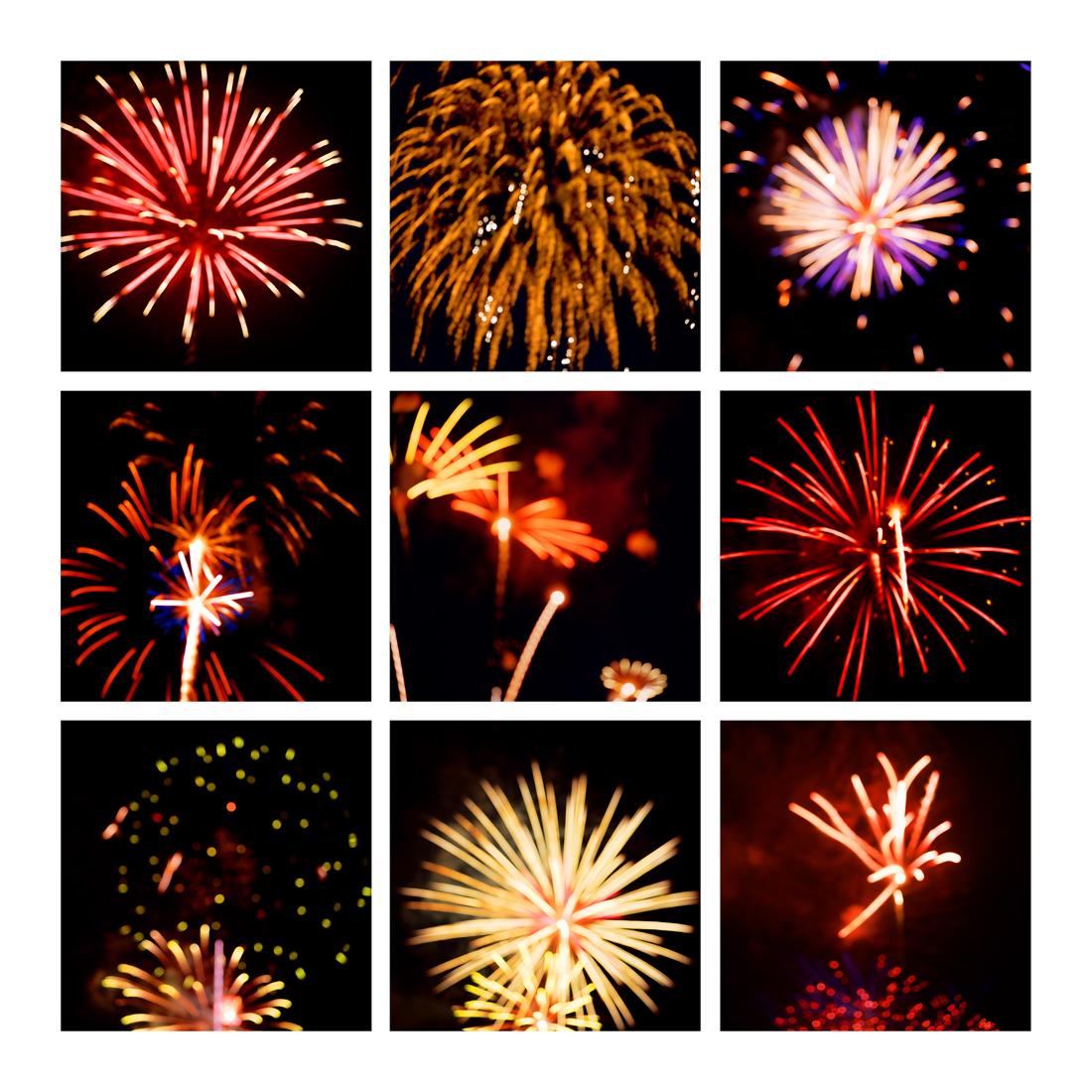 Fireworks #4, 2019 (2008-2019)