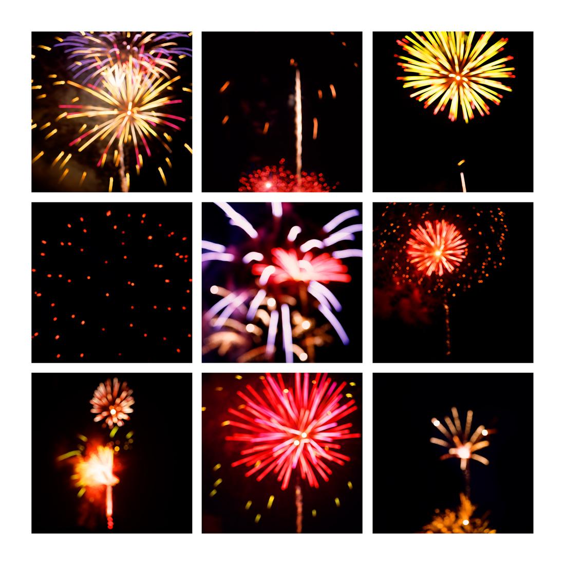 Fireworks #5, 2019 (2008-2019)