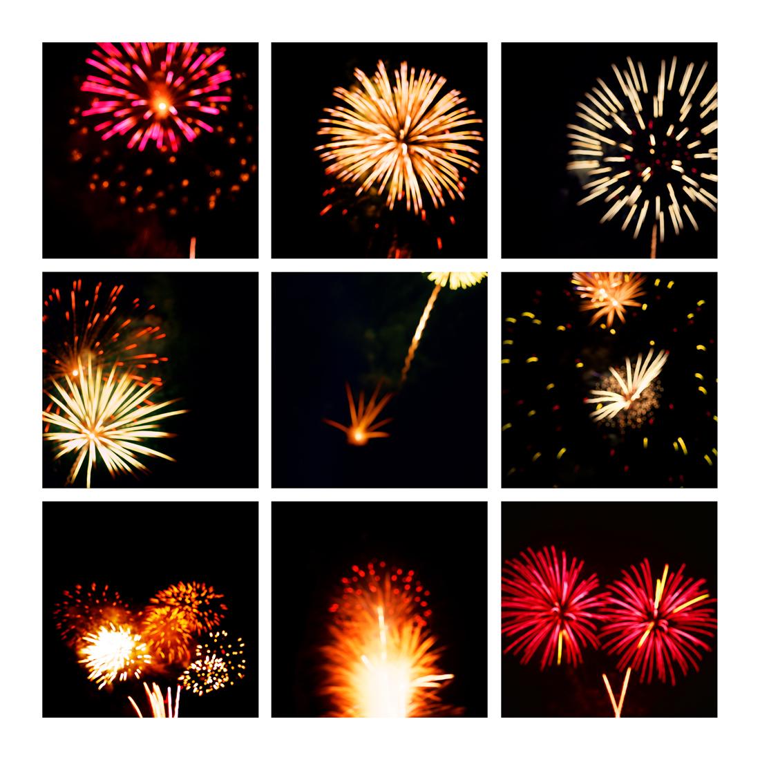 Fireworks #6, 2019 (2008-2019)