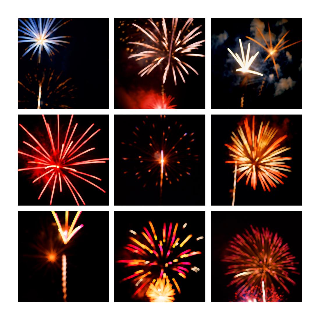 Fireworks #7, 2019 (2008-2019)
