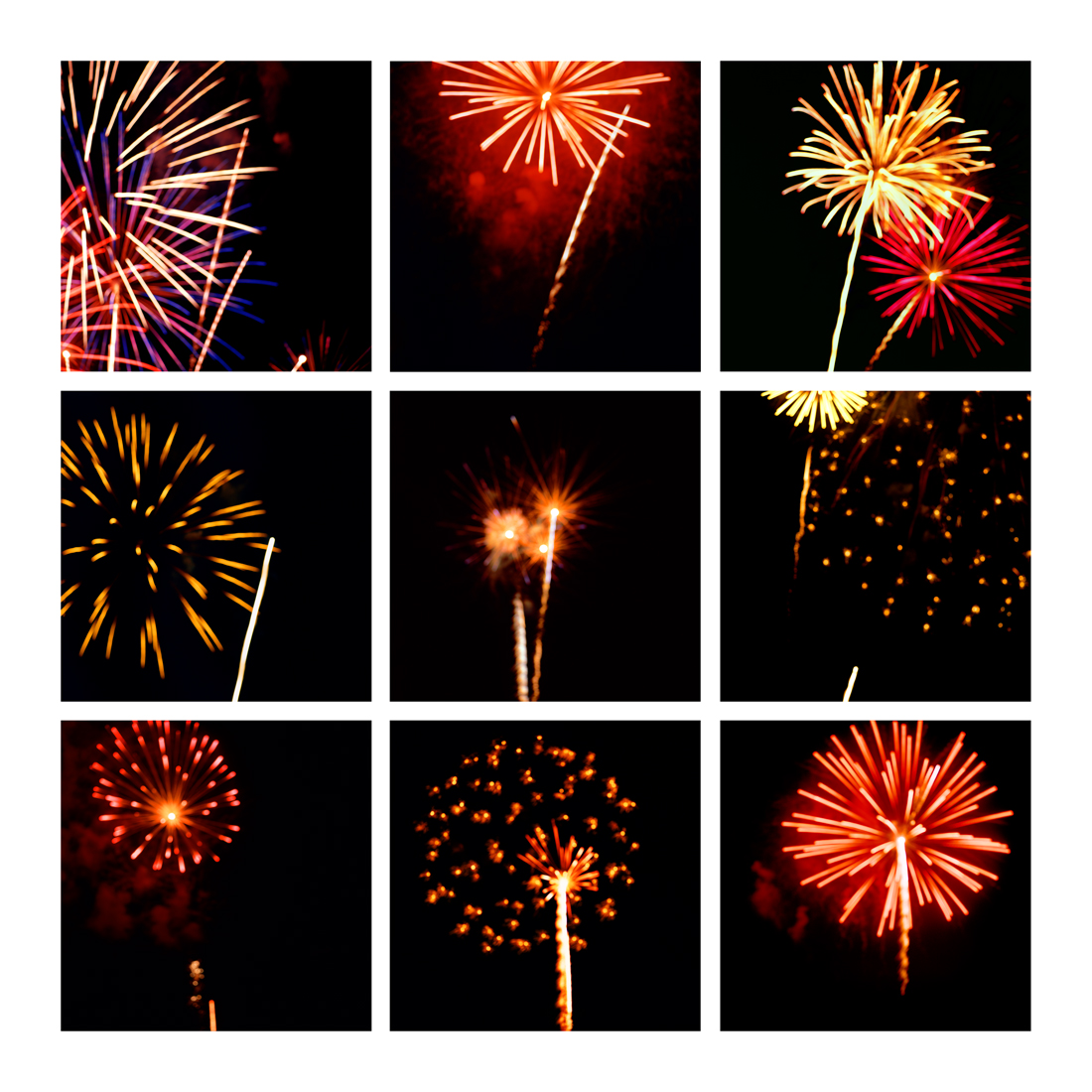Fireworks #8, 2019 (2008-2019)