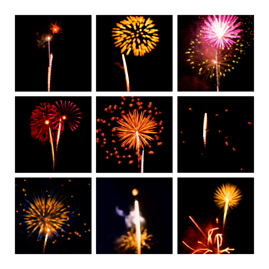 Fireworks #9, 2019 (2008-2019)