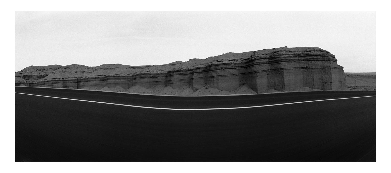 Roadscape #28, Utah, 1990
