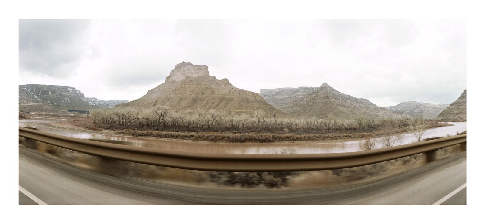 Roadscape #48, Colorado, 1993
