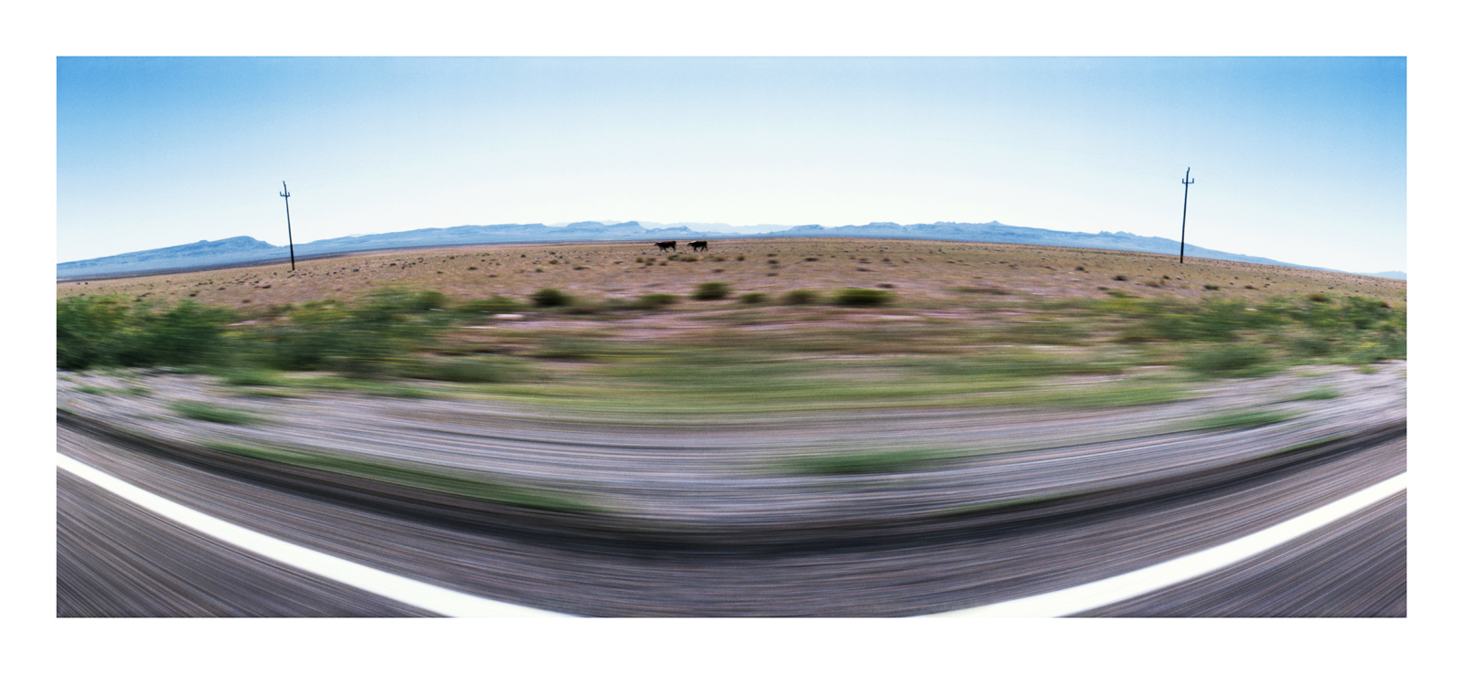 Roadscape #96, Nevada, 1991